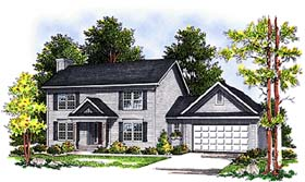 Plan Number 97155 - 1553 Square Feet