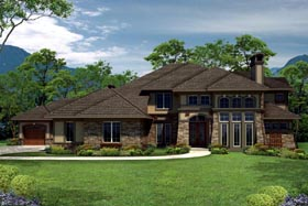 Tuscan House Plan 97158 Elevation