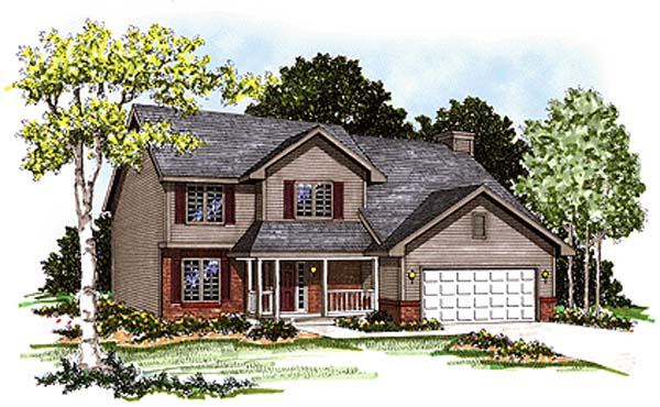 Country House Plan 97160 Elevation