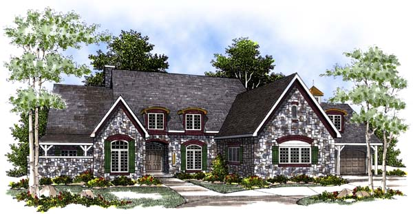 Cape Cod Country House Plan 97166 Elevation