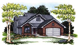 Traditional House Plan 97174 Elevation