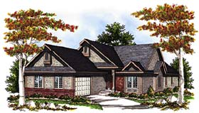 Traditional House Plan 97177 Elevation
