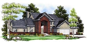 Traditional House Plan 97180 Elevation