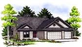 Plan Number 97184 - 1490 Square Feet