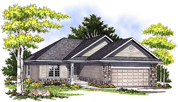 Traditional House Plan 97195 Elevation