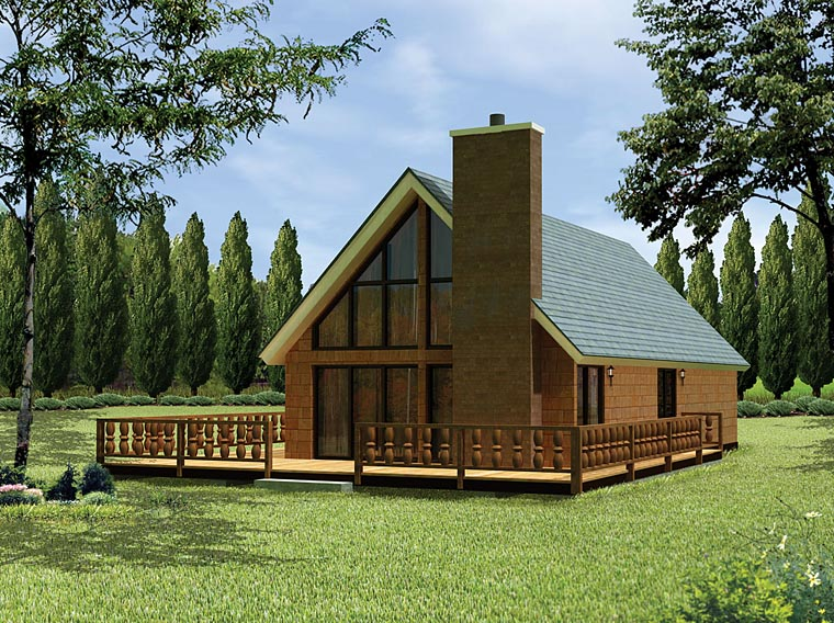 Contemporary House Plan 97200 Elevation