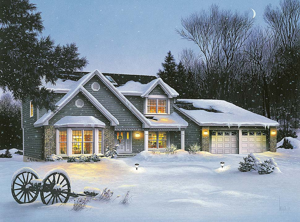 Traditional House Plan 97207 Elevation