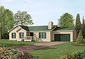 Plan Number 97209 - 1416 Square Feet