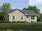 Plan Number 97210 - 1104 Square Feet