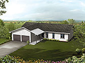 Plan Number 97215 - 1504 Square Feet