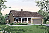 Plan Number 97221 - 1668 Square Feet