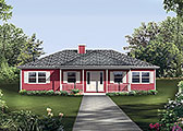 Plan Number 97226 - 1364 Square Feet