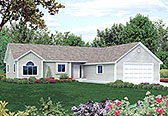 Plan Number 97250 - 1242 Square Feet