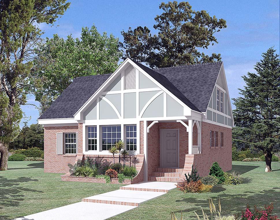 Cottage Traditional Tudor House Plan 97256 Elevation