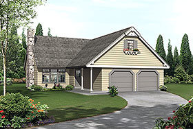 Country Traditional House Plan 97262 Elevation