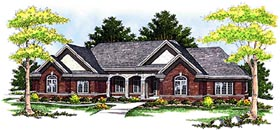 Traditional House Plan 97306 Elevation