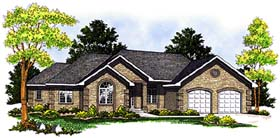 Traditional House Plan 97309 Elevation