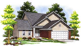 Plan Number 97310 - 1387 Square Feet