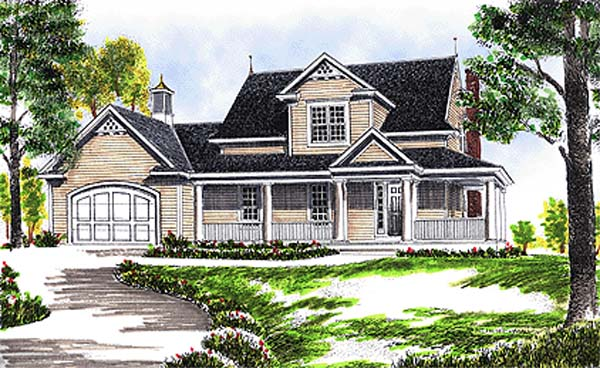 Country House Plan 97311 Elevation