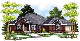 Traditional House Plan 97312 Elevation