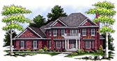 Plan Number 97323 - 3850 Square Feet