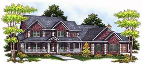 Country House Plan 97326 Elevation