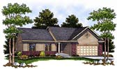 Plan Number 97332 - 1340 Square Feet