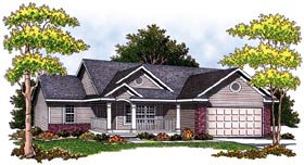Plan Number 97337 - 1274 Square Feet