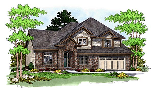 Traditional House Plan 97349 Elevation