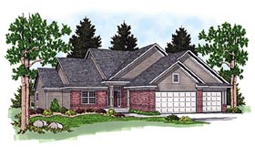 Traditional House Plan 97355 Elevation