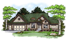 Traditional House Plan 97360 Elevation