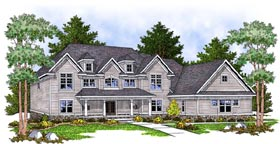 Country House Plan 97361 Elevation