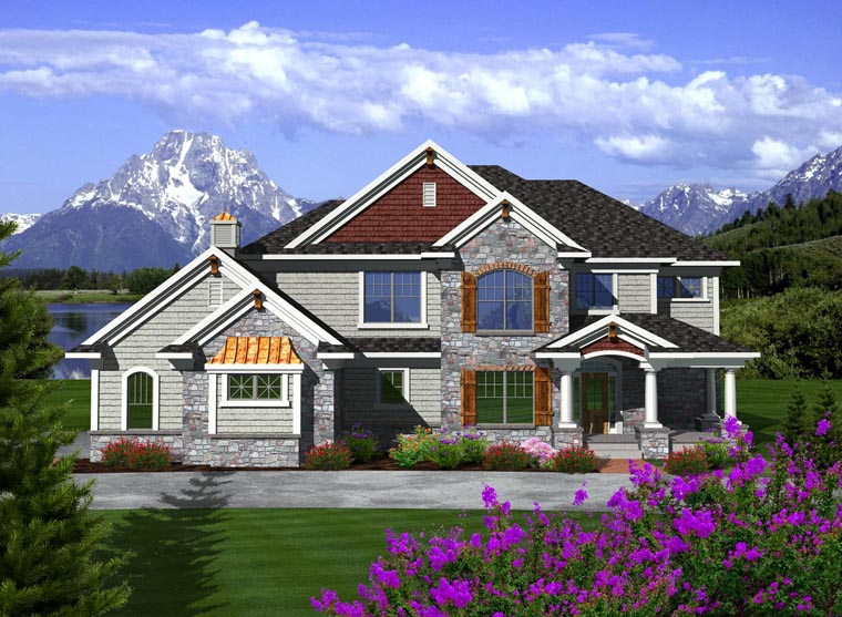 Traditional House Plan 97372 Elevation