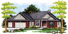 Traditional House Plan 97373 Elevation