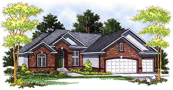 Traditional House Plan 97377 Elevation