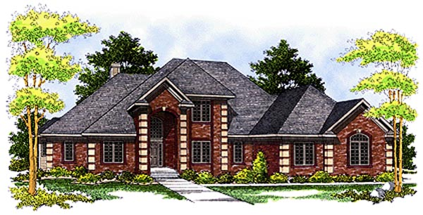 Traditional House Plan 97378 Elevation