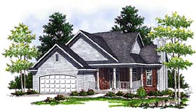Plan Number 97391 - 1817 Square Feet