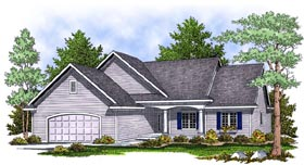 Traditional House Plan 97395 Elevation