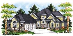 Bungalow European House Plan 97399 Elevation