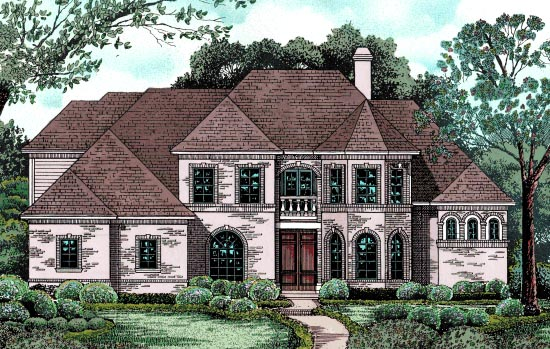 European Victorian House Plan 97400 Elevation