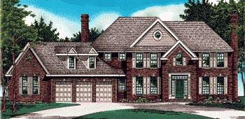 Tudor House Plan 97401 Elevation