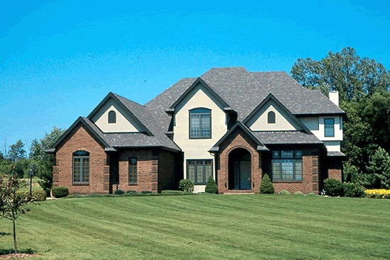 House Plan 97402 with 4 Beds, 4 Baths, 3 Car Garage Picture 1