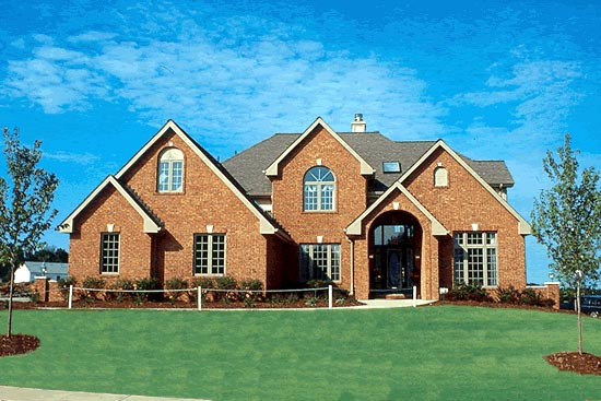 House Plan 97402 with 4 Beds, 4 Baths, 3 Car Garage Picture 3