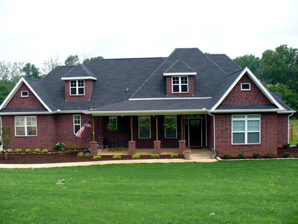 European House Plan 97406 with 4 Beds, 3 Baths, 2 Car Garage Picture 3