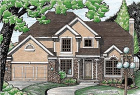 Bungalow Farmhouse House Plan 97427 Elevation