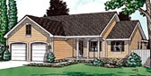 Plan Number 97443 - 1433 Square Feet