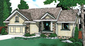Ranch House Plan 97445 Elevation