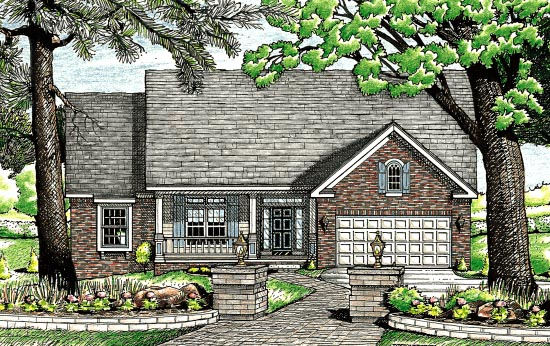 Cape Cod Country House Plan 97456 Elevation