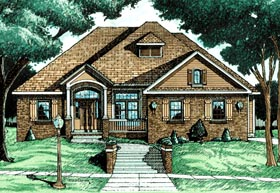 Traditional House Plan 97466 Elevation
