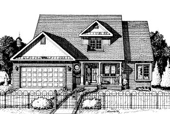 Country House Plan 97468 Elevation